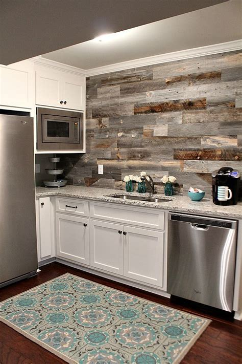wood backsplash ideas 25 best ideas about wood backsplash on pallet