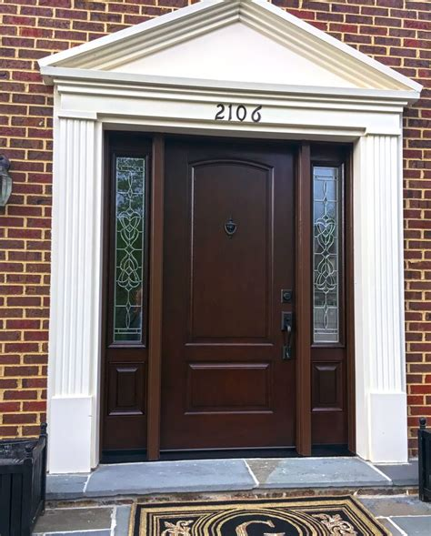 Exterior Fiberglass Doors With Sidelights 17 Best Ideas About Fiberglass Entry Doors On Pinterest Entry Door With Sidelights Black