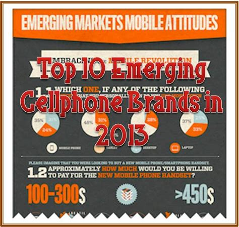 best cell phone 2013 top 10 emerging cellphone brands in 2013