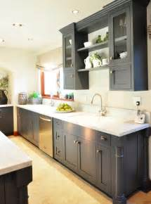 Gray Kitchen Cabinet Ideas by Traditional Home Showhouse Tour Centsational