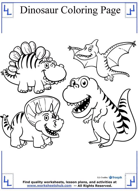 dinosaur coloring page dinosaurs coloring page dinosaur coloring pages