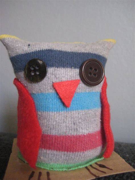 sock crafts for sock owl easy toddler craft owls