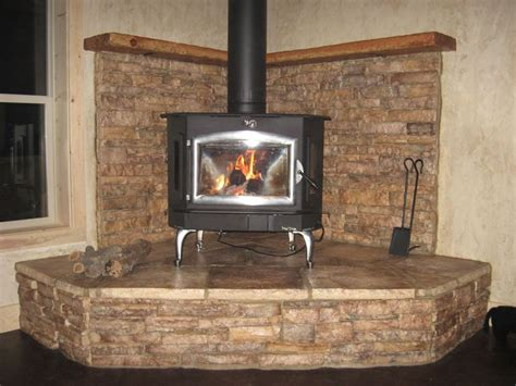 idea for wood furnace design corner wood stove design ideas images
