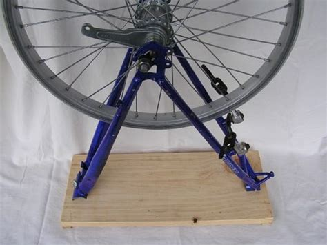 diy wheel truing 15 best images about bicycle wheel truing stand on