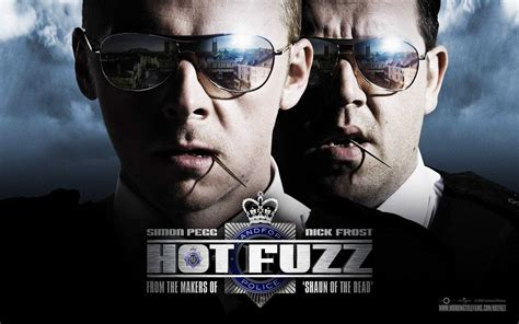 hot fuzz review hot fuzz review film takeout