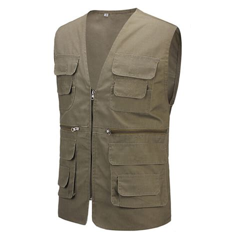 Rompi Pria 2017 Summer S Regular Vest With Many Pockets Casual