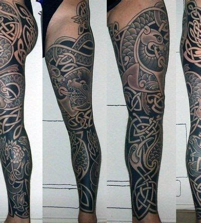 celtic leg tattoos for men 25 best images about celtic sleeve tattoos on