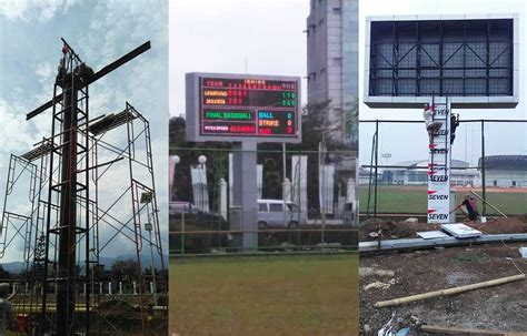 Led Bandung Stadion Baseball Bandung Leseen Led Display