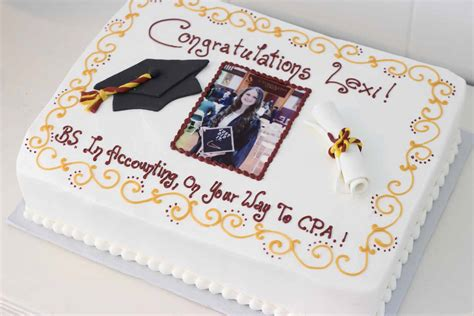 Cake If Rn With Mba by Graduation Cakes And Catering In Sussex County Morris