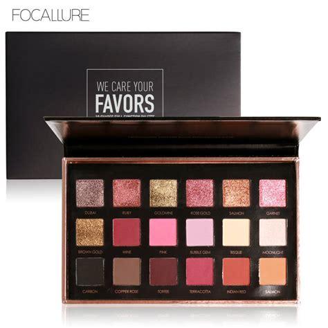 Makeup Focallure aliexpress buy focallure 18 colors palette shimmer