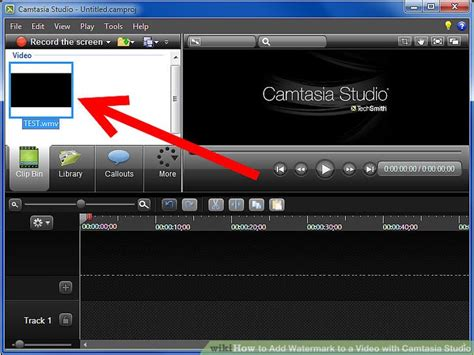 format video camtasia how to add watermark to a video with camtasia studio 6 steps