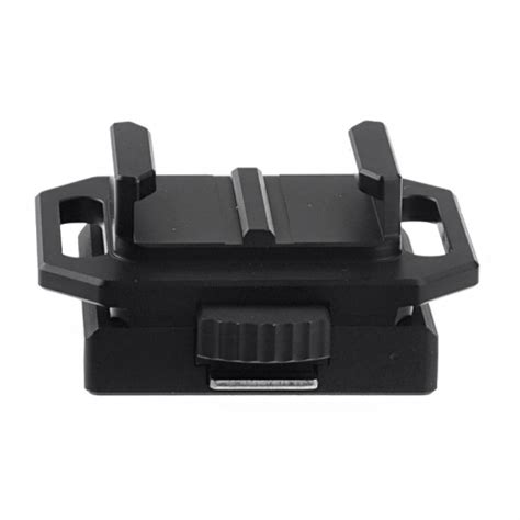 Murah Helmet Mount For Xiaomi Yi And Gopro Untuk Ikat Di aluminum helmet mount base for xiaomi yi and gopro 2 3 st 80 black jakartanotebook