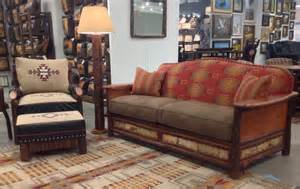 Rustic Sofa And Loveseat Old Hickory Gt Woodland Rustic Sofa