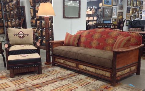 cabin sofa old hickory gt woodland rustic sofa