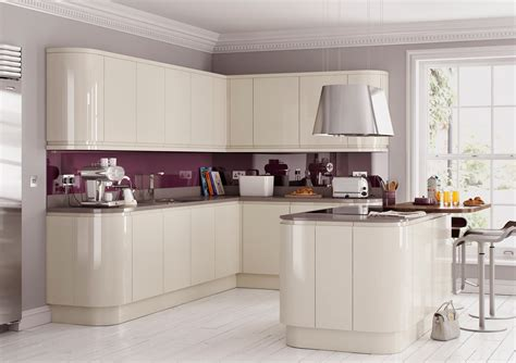 Painted Kitchens Cabinets Lucente Cream Cheap Kitchens Discount Kitchens For Sale