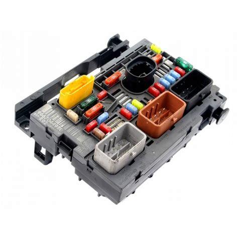 fuse box module bsm citroen  picasso  iii  sale auto spare part  pieces okazcom