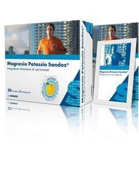 alimenti magnesio magnesio potassio 10bust