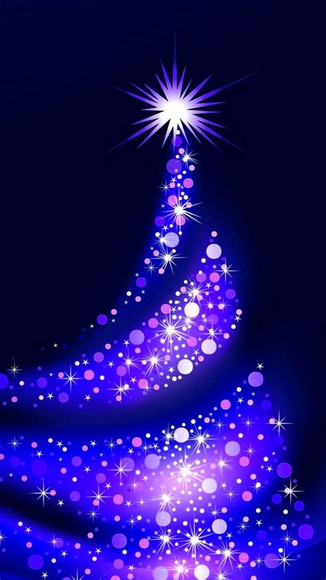 purple christmas tree lights iphone 6 wallpapers stars