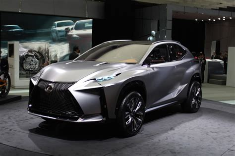 lexus lf nx lexus lf nx turbo advanced crossover concept motor
