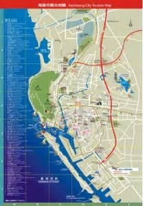 kaohsiung city tourism map maplets