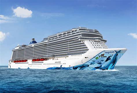 norwegian cruise careers norwegian cruise line building bliss for alaska cruises