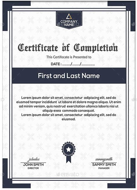 graduation certificate templates creativetemplate