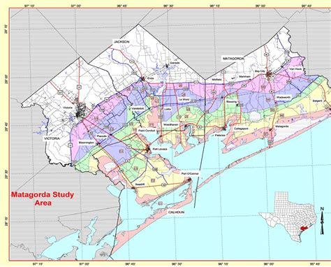 matagorda texas map state level maps