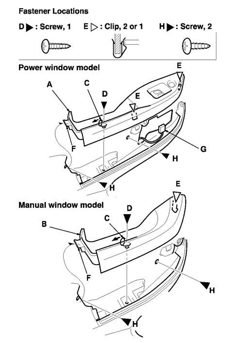 2008 honda crv ex door panel honda accord door panel removal imageresizertool