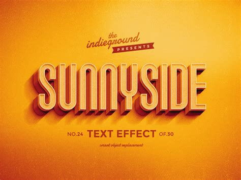 retro vintage text effects vol 3 on behance
