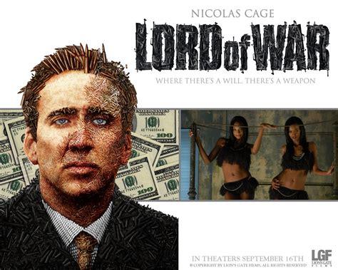 Film Nicolas Cage Lord Of War | stato di polizia verso un mondo nuovo