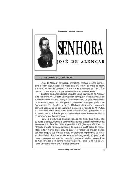 Senhora, de José de Alencar - análise