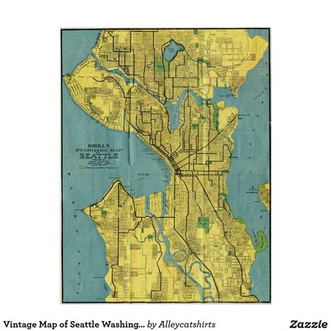 seattle va map 1519 best images about vintage map posters on