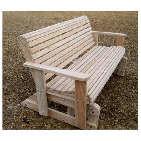 porch swing gliders amish pine wood glider bench with cutout hearts images
