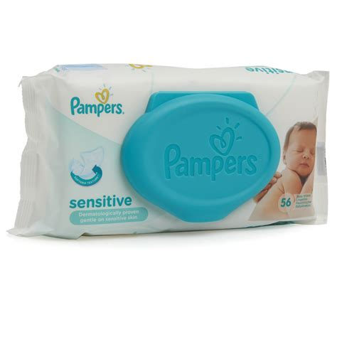 Baby Wipes pers sensitive baby wipes 56pk at wilko