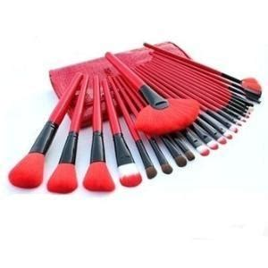 7 Pieces Make Up Brush Set Intl 24 pcs comestic makeup brushes set kit with orange mint