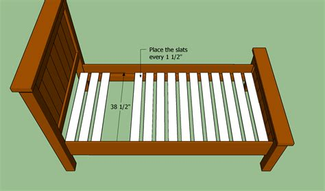 Bed Frame Support Slats How To Build A Bed Frame Howtospecialist How To Build Step By Step Diy Plans