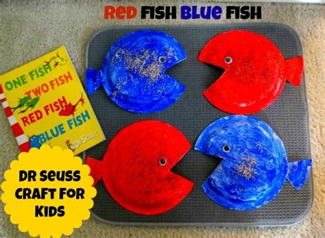 dr seuss paper plate craft dr seuss crafts for fish blue fish paper plate