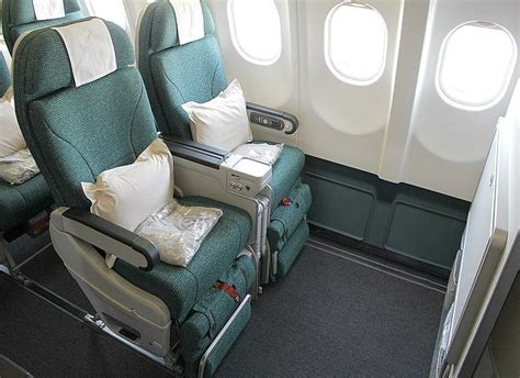 extra seating the cathay pacific premium economy experience