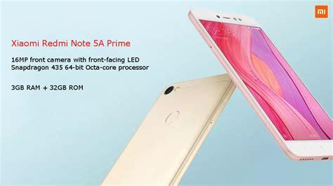 Xiomi Note 3 Ram 3gb 32 xiaomi redmi note 5a prime 5 5 inch 3gb ram 32gb rom