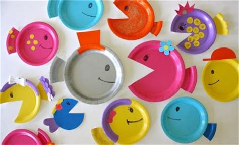 school of paper plate fish | fun family crafts