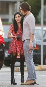 Light Grey Jeans The Veronicas Lisa Origliasso Spotted Getting Cosy With A