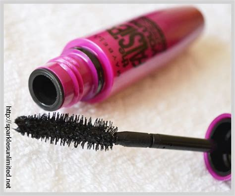 Maybelline Volum Express Curved Brush Washable Mascara Expert Review by Maybelline The Falsies Volum Express Mascara In Black