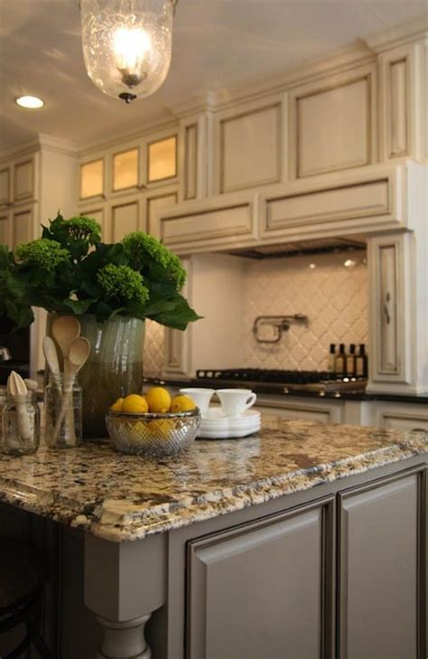 related image kitchen pinterest black granite countertops antique ivory kitchen cabinets with black granite