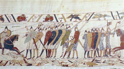 tappezzeria di bayeux la conqu 234 te de l angleterre par le duc de normandie