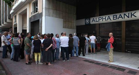 greece banks the catastrophe is finally here unless it isn t