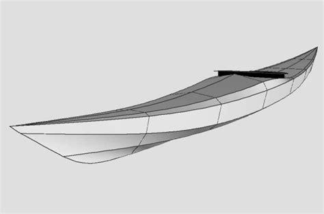 siskiwit bay skin  frame sea kayak plans