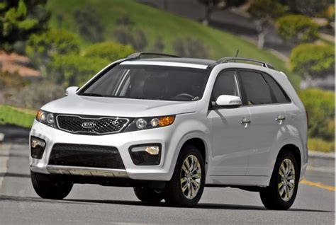 What Of Gas Mileage Does A Kia Sorento Get Third Row 7 Seat Family Vehicles With Highest Gas Mileage