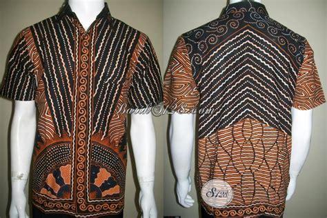 Batik Cap Laki Laki Lengan Panjang batik halus bahan katun primisima kemeja laki laki corak