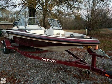 nitro bass boat dealers in alabama 2016 used nitro z 7 sport bass boat for sale 33 400