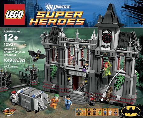 Batman The Lego Batman Collection news lego batman arkham asylum breakout set announced mint condition customs